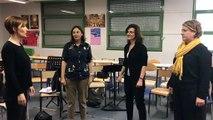 Enseignement de chant choral  - Ts/ff/ch/clap