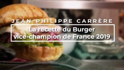 La recette du burger vice-champion de France 2019