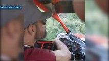 Quand Diego Costa se prend pour un pilote de rallye