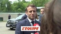 Macron soutient Le Graët « contre la réforme de la Ligue des champions » - Foot - C1