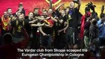 Heroes' welcome for North Macedonia handball champs