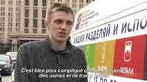 Face au déluge d'ordures, un combat pour le recyclage à Moscou