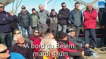Le capitaine du Bélem se sent moins seul