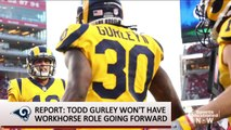 Report: Todd Gurley Won't Be 'Bell Cow' Running Back for Rams Going Forward