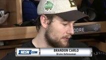 Brandon Carlo Addresses Media Following Game 4 Loss