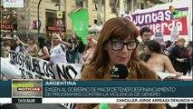 """Argentina:colectivo """"Ni una menos"""" exige fin de la violencia de género"""