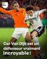 Aucun joueur n'a réussi à dribbler Virgil van Dijk lors de ses 64 derniers matches avec Liverpool