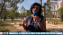 Le 18:18 - Marseille : la première tranche du parc urbain de la Porte d'Aix ouvre ses portes samedi