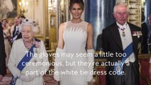Why Melania Trump Wore Opera Gloves to the State Banquet