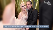 Lady Gaga Addresses Her Split from Ex-Finacé Christian Carino for the First Time