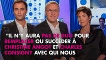 ONPC : Laurent Ruquier annonce le départ de Christine Angot