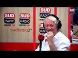 Patrick Sébastien au micro de Brigitte Lahaie