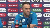 South Africa's Faf Du Plessis pre India