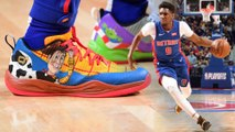 Making an NBA Custom Game Worn Shoe