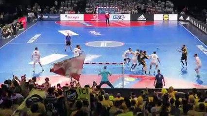 Minel au 73e ciel - Finale Coupe de France 2019 - Chambéry 31 21 Dunkerque