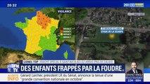 Trois enfants frappés par la foudre pendant un entraînement de foot dans le Pas-de-Calais