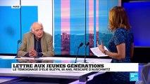 """""""Lettre aux jeunes générations"""" :  le témoignage d'Elie Buzyn, rescapé d'Auschwitz"""