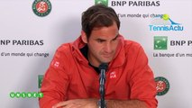 """Roland-Garros 2019 - Roger Federer : """"We do not know, Nadal may have a problem, Rafa may be sick..."""""""