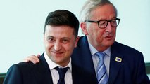 L'Ukraine reçoit le soutien de l'UE et de l'OTAN