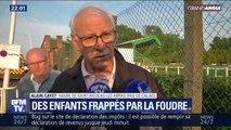 """Jeunes foudroyés: le maire de St-Nicolas-lez-Arras affirme que """"deux enfants sont partis au centre hospitalier de Lille"""""""