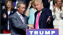 UK's Farage Says Trump Expressed Concern Over How Long Brexit Is Taking