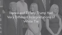 Ivanka and Tiffany Trump Had Very Different Interpretations of White Tie