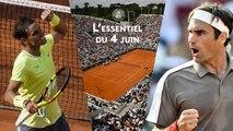 Roland-Garros : L'essentiel du 4 juin - Le choc Federer-Nadal aura lieu, Vondrousova sensationnelle