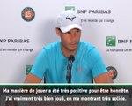 """Roland-Garros - Nadal : """"J'ai été trè solide, je sens bien la balle"""""""