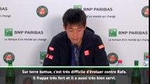 """Roland-Garros - Nishikori : """"Franchir les quarts de finale en Grand Chelem"""""""
