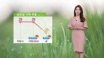 [날씨] 내일까지 한여름 더위...금요일 전국 비바람 / YTN