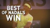 Best of Nadal - Spaniard cruises past Nishikori