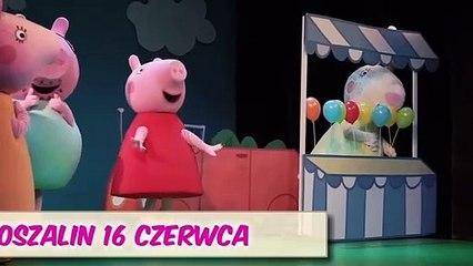 Spektakl: Świnka Peppa – Wielka Niespodzianka na żywo w Koszalinie!