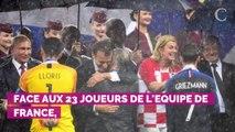 Didier Deschamps tacle Emmanuel Macron lors de la remise la Légion d'honneur à l...