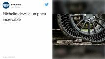 Révolution. Michelin invente le pneu increvable