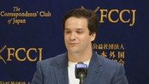 Primera aparición pública de Mark Karpèles tras ser absuelto de fraude en Japón