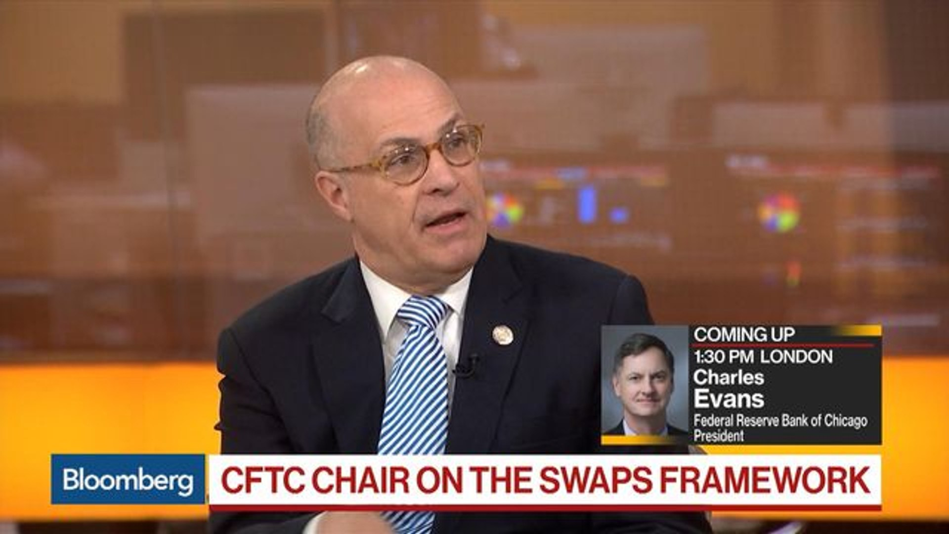 CFTC's Giancarlo on Fed Policy, Liquidity, Swaps Framework, Blockchain