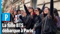 Le groupe de K-pop BTS ouvre son pop-up store à Paris