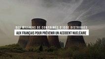 Nucléaire : des millions de comprimés d'iode distribués aux Français