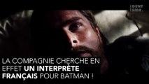 Devenez le Batman français officiel, la Warner lance un casting ouvert à tous !