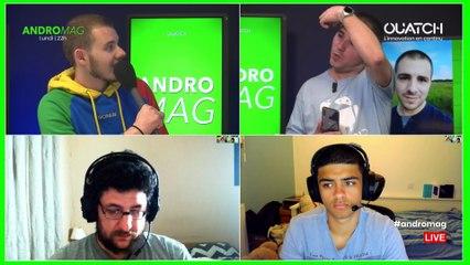 ANDROMAG S06E17 : Tests : Wiko View 3 Pro et Asus Zenfone 6 et les premières caméras sous l'écran