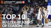 2018-19 Turkish Airlines EuroLeague: Top 10 Buzzer-Beaters!