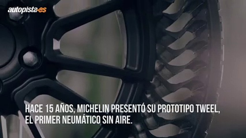 Michelin Uptis:  la rueda impinchable y que nunca reventará