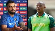 "ICC Cricket World Cup 2019 : ""Will Talk To Kagiso Rabada Man-to-man"" Says Virat Kohli"