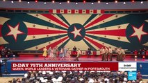 D-Day anniversary ceremony brings Boogie Woogie back