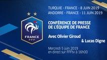 Équipe de France, la conférence de presse de Giroud et Digne en direct (16h)