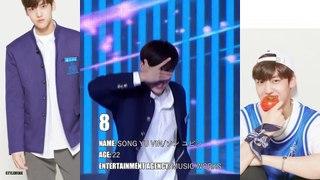 【PRODUCE X 101】3rd WEEK RANKING TOP10 日本語字幕 EN