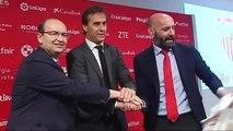 El Sevilla FC presenta a Julen Lopetegui como nuevo entrenador de los de Nervión para los próximos 3 años