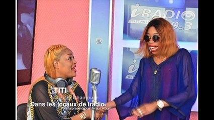 Nouvel album: Titi rayonnante dans les locaux d'Iradio