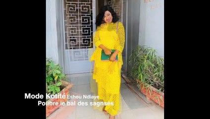 Mode Korité 2019 : ESHOU NDIAYE « Ouvre le bal des sagnsé»
