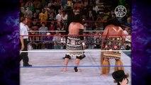 The Undertaker vs Samu w/ Afa (Undertaker Returns & Raises The Lights For The First Time)! 7/5/93